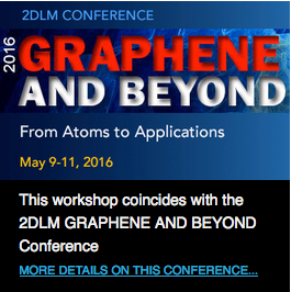 2016 Graphene and Beyond Conference