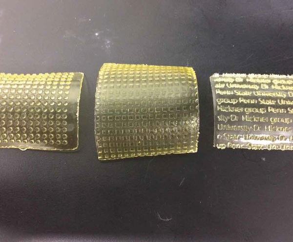 3D printing of patterned membranes