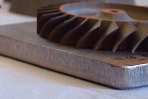 Gear produces with 3D printing