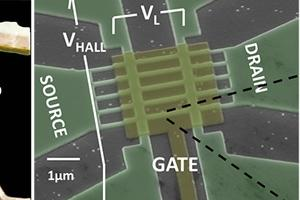 SEM of tunneling field effect transistor