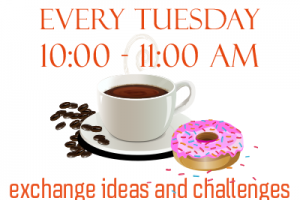 Millennium Cafe Every Tuesday at 10am