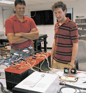 studying the life cycle of rechargeable lead-acid batteries